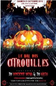 Le Bal des Citrouilles le 31 octobre