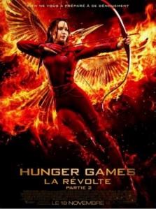 Hunger Games- La Révolte: Partie 2 : nouveauté au cinéma