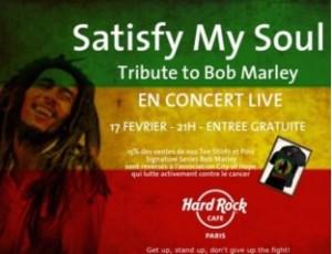 Ne manquez pas la Tribute to Bob Marley !