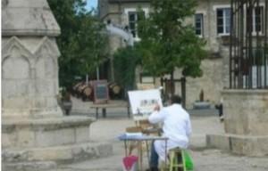 Le tournoi de peinture à Provins en septembre