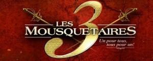 Spectacle Les 3 Mousquetaires en tournée en France