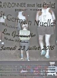 Une randonnée nocturne à St Germain Nuelles