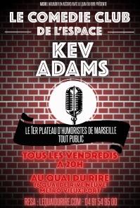 Kev Adams ouvre son espace à Marseille